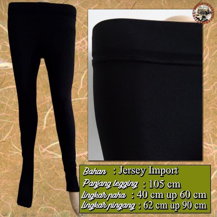 Legging Wudhu / Legging Muslimah - Bahan Jersey Premium - IMPORT