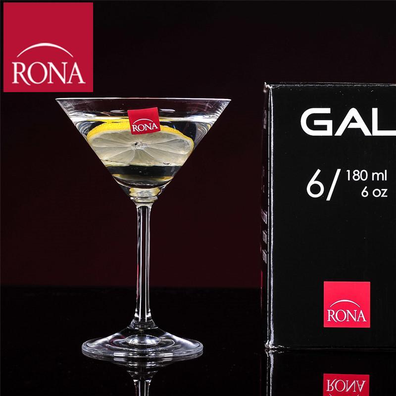 RONA Republik Gelas Wine Gelas Minuman Anggur 180 Ml Bebas Timbal Kristal Gelas Minuman Koktail