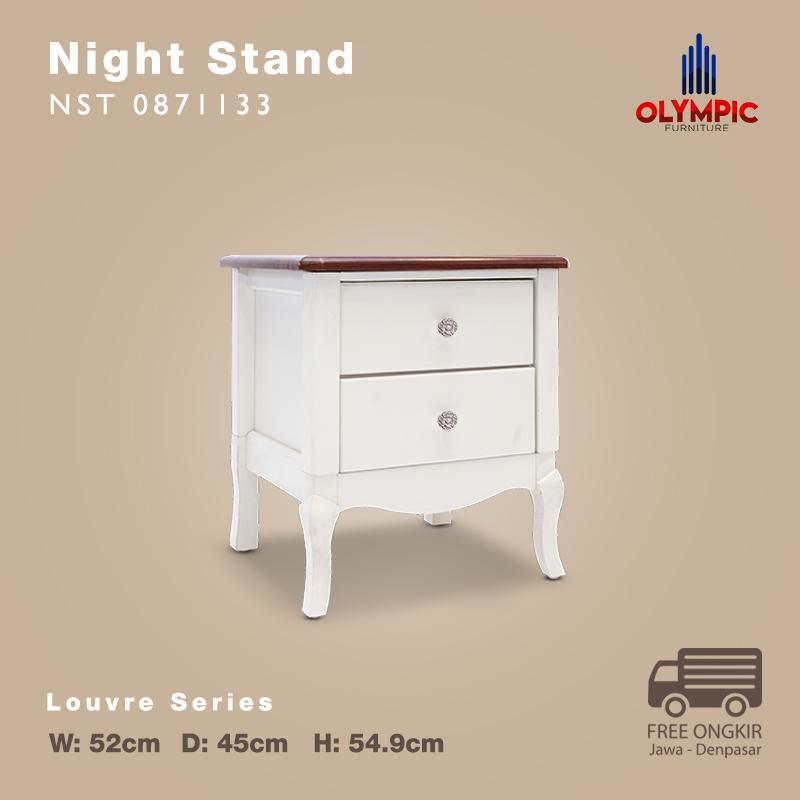 Olympic Louvre Series Night Stand Nakas European Style - NST 0871133