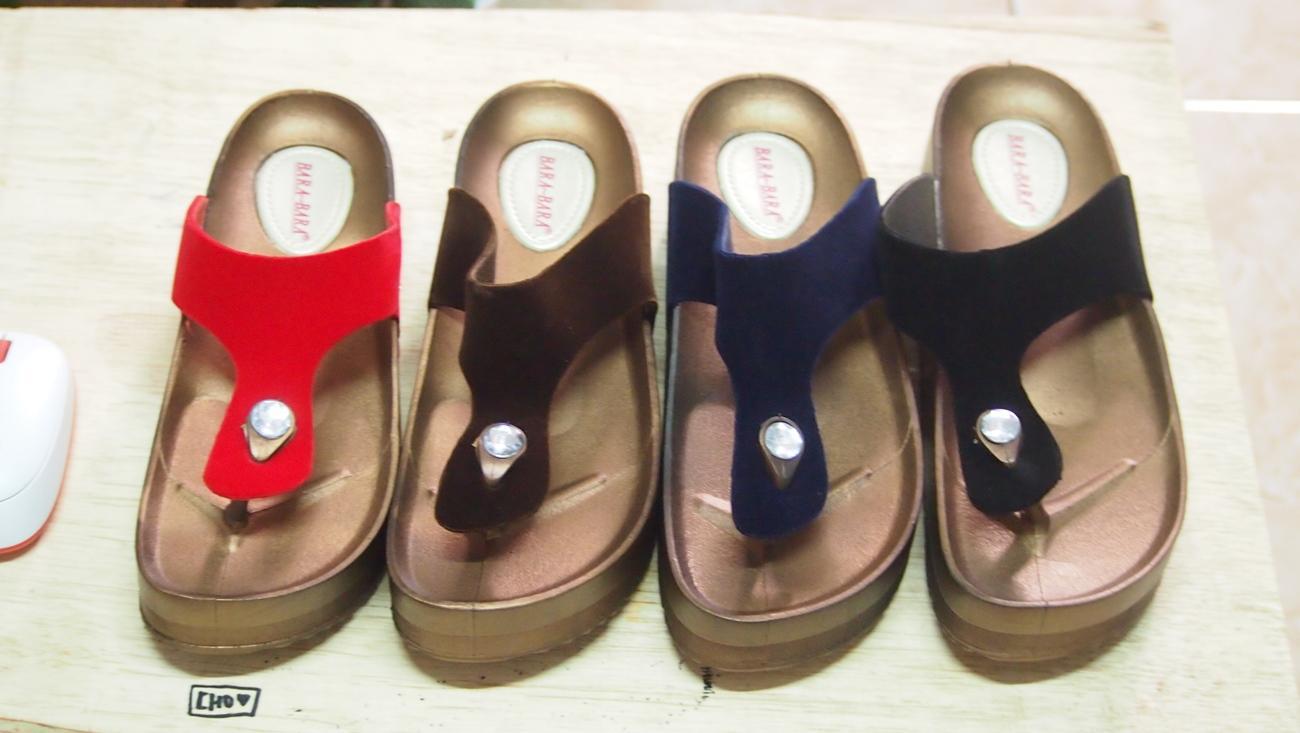 Rp 59.500. Sandal Jepit Wedges Jelly Wanita Bara Bara Tali Bludru MJZ-B2973 EI Warna Dikirim ...