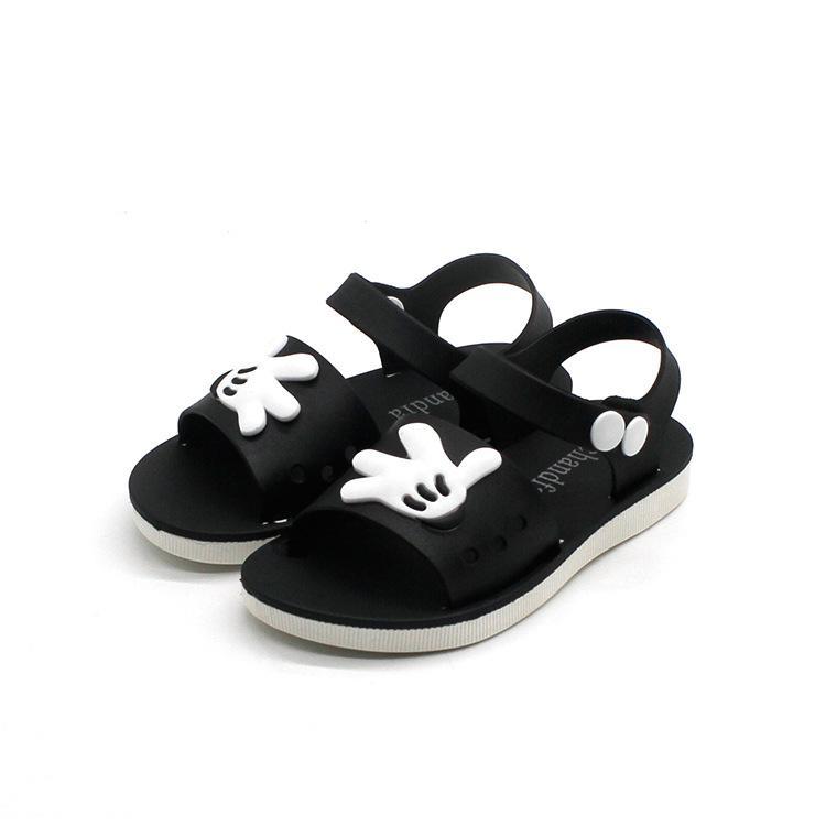 Besar Sandal Summer Plastik Anak Laki-laki Sepatu Jelly Korea Fashion Style Baru
