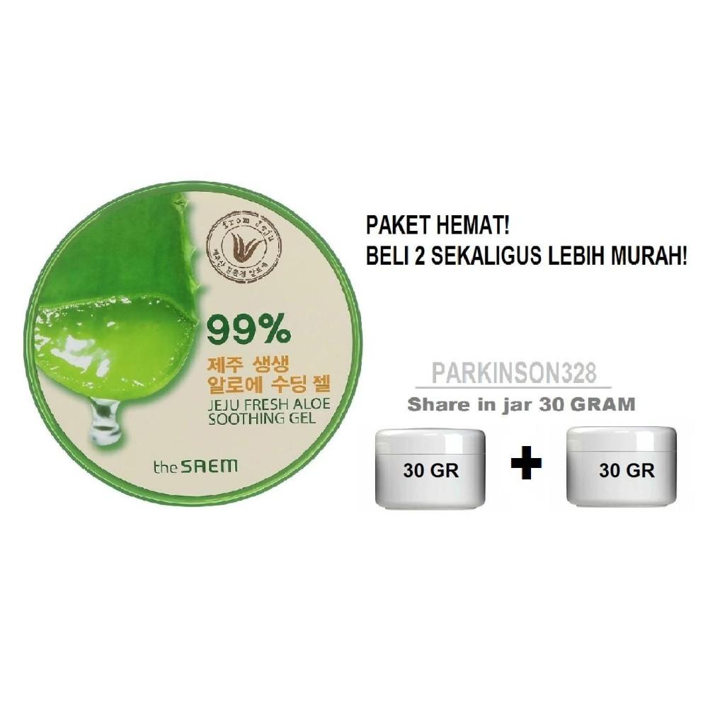 Beli Makeup The Saem Store Marwanto606 Natural Tox Apple Mask Original Jeju Fresh Aloe Vera Soothing Gel 99 Share In Jar 30