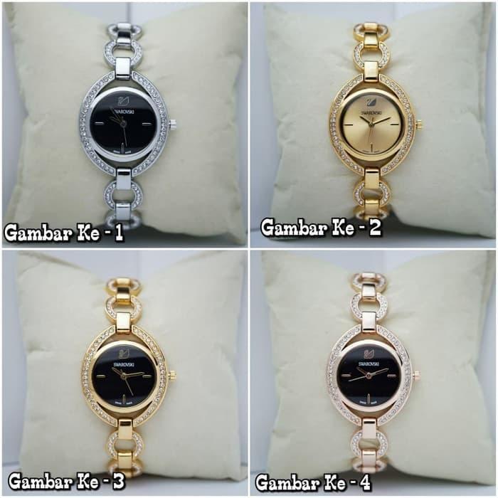 jam tangan wanita kualitas semi original kw ori rolex stainless watch