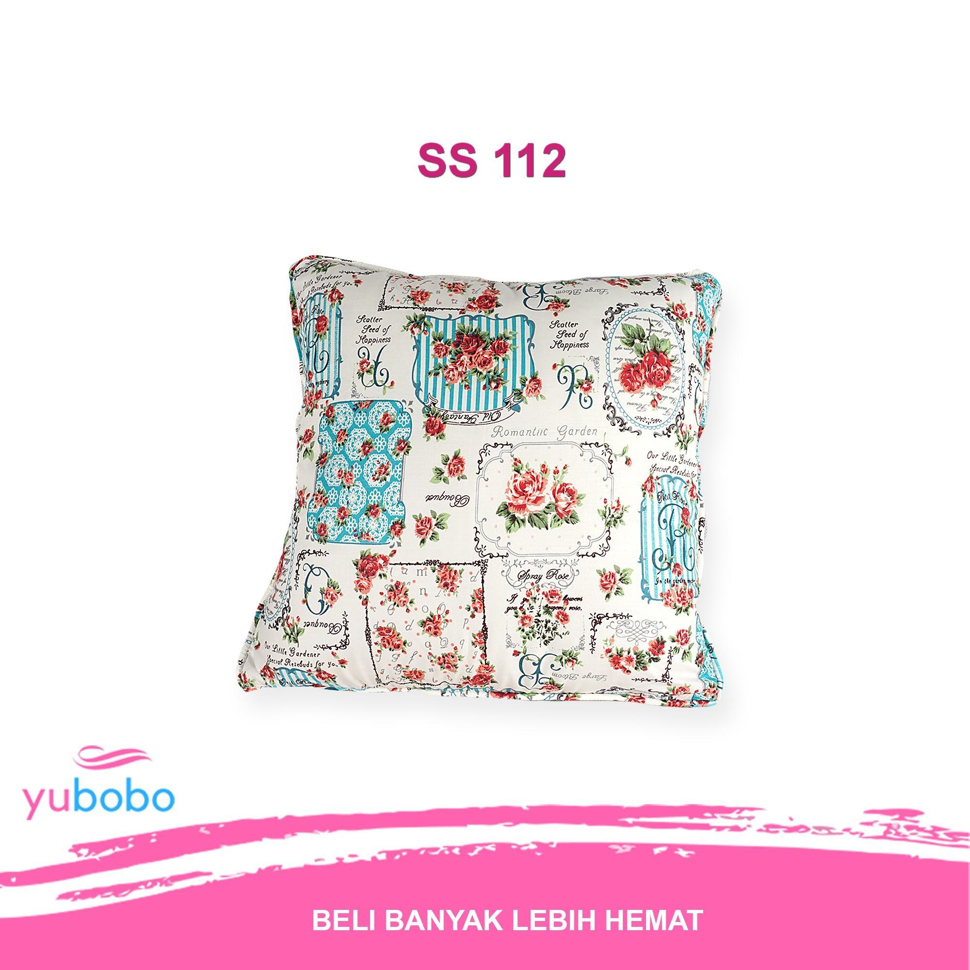 yubobo - Sarung Bantal Sofa Kursi Tamu Premium 40 x 40cm (Hanya Sarung)