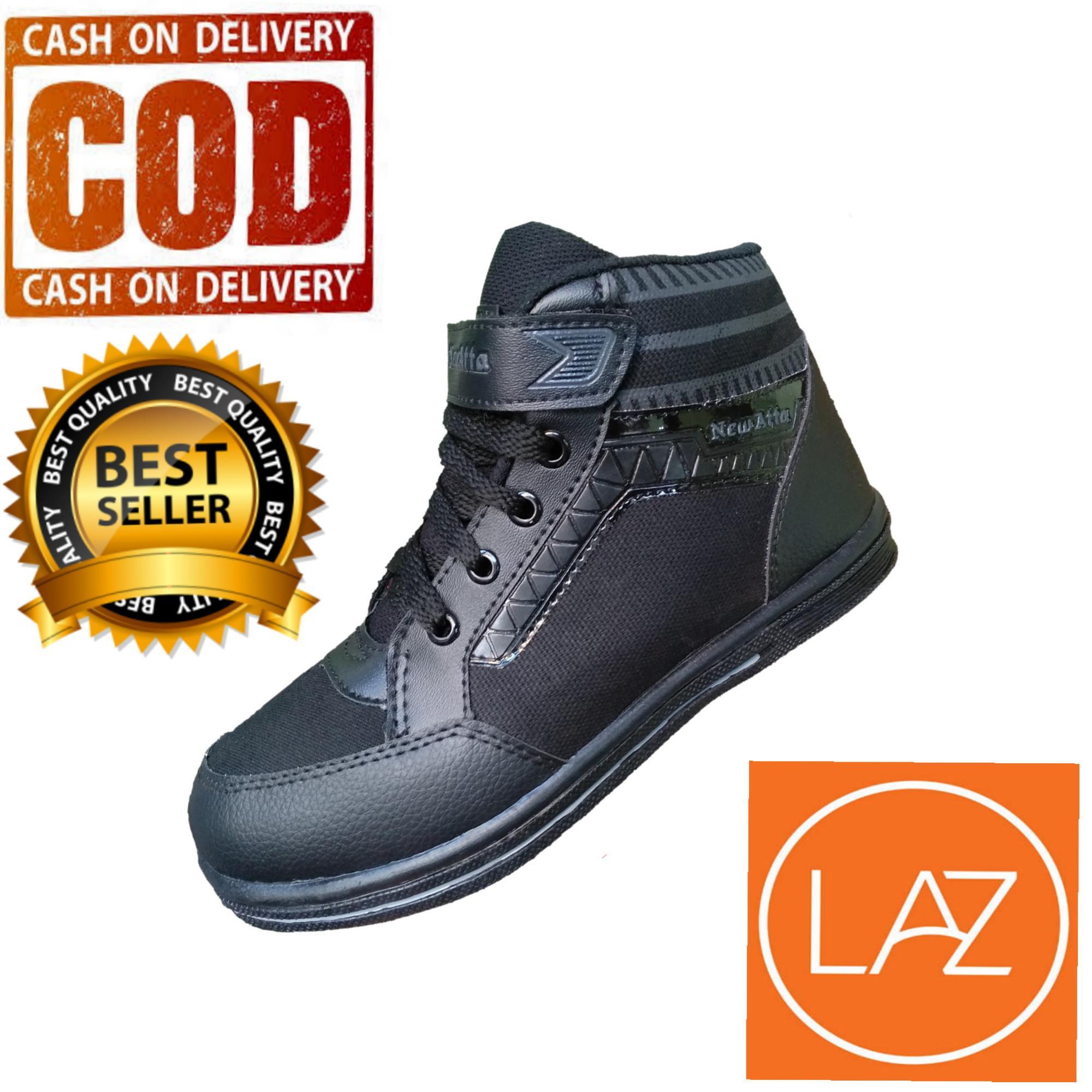 Sepatu Sekolah Anak / Sepatu Sekolah Pria / Sepatu Sekolah Hitam / Sepatu Olaraga Hitam /
