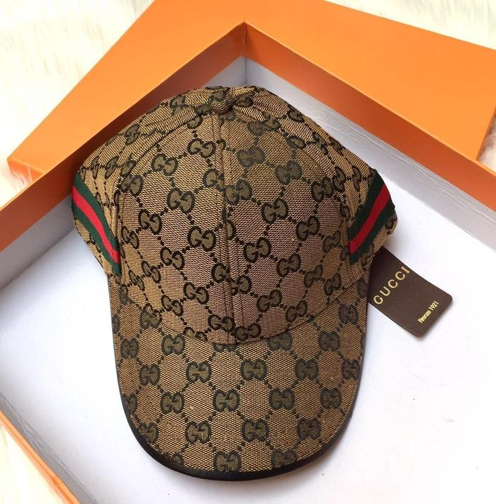 Topi Gucci Al List Samping Semi Premium Import Original