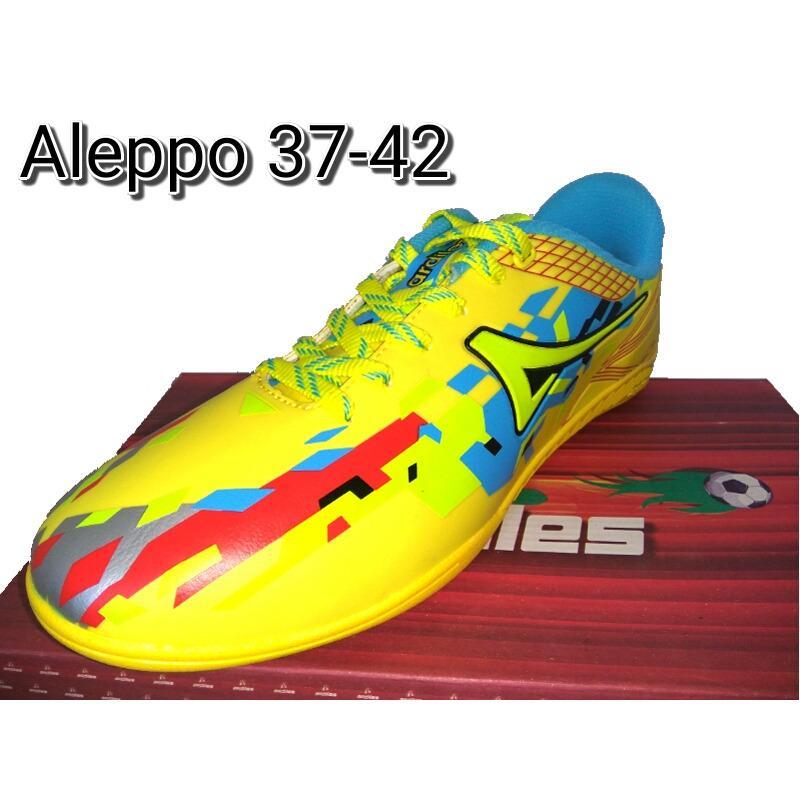 Ardiles Aleppo Yellow- Sepatu Futsal - Sepatu Olahraga - Sepatu Running - Sepatu Murah