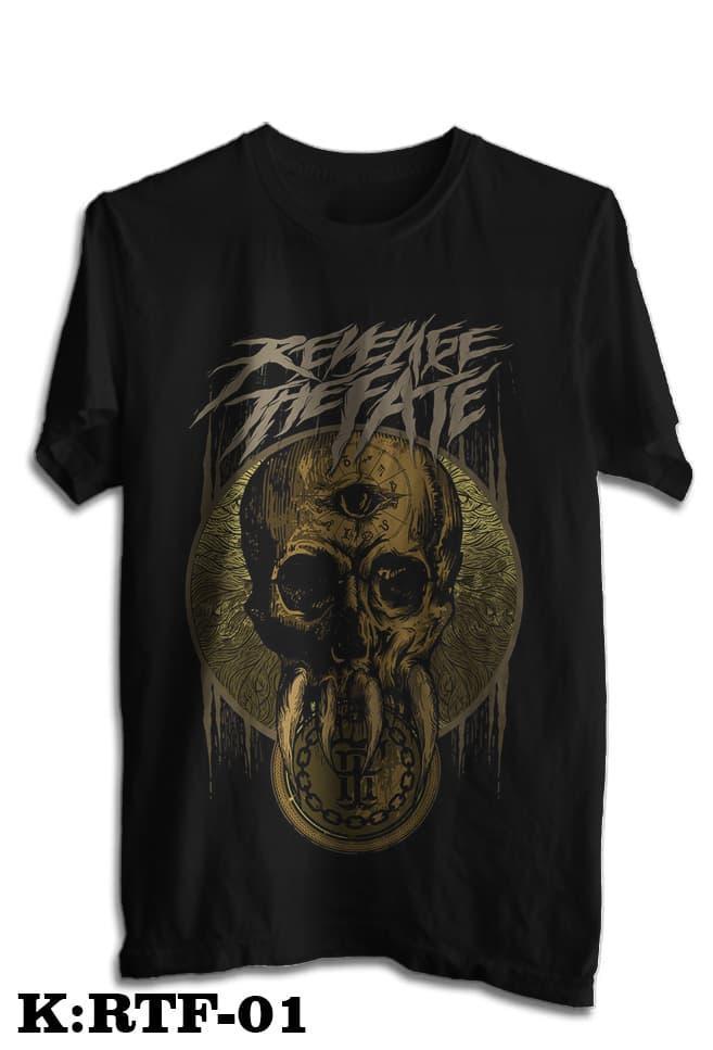 Kaos Revenge The Fate Tshirt Musik Rock Rtf 01