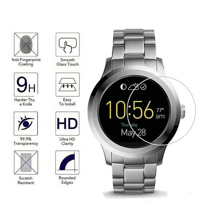 Gilrajavy Bbar Suunto Dive HD Clear Screen Protector 2PCS. Source · Tempered Glass Smartwatch Fossil Q Founder 2.0