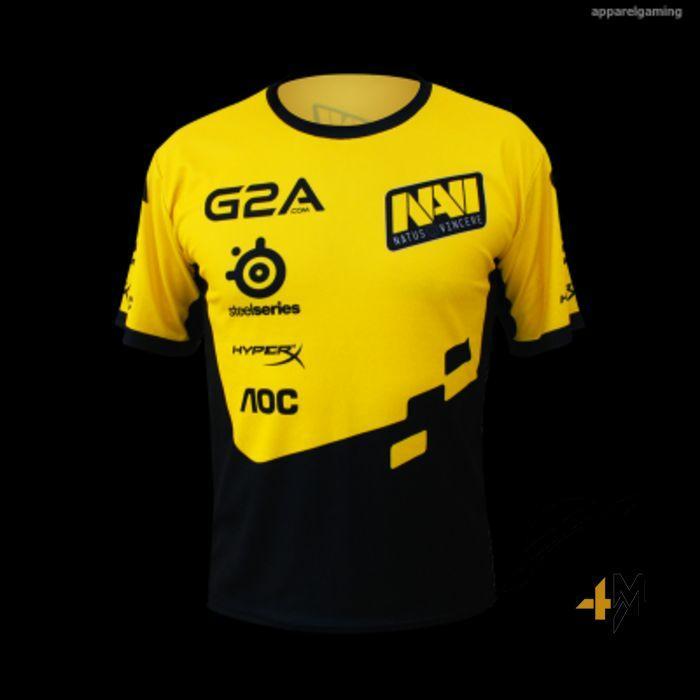 Jersey Dota2 Team Navy Yellow 2016 - Baju Tshirt Kaos Game Gamer Gamers Dota 2 Murah Terlaris