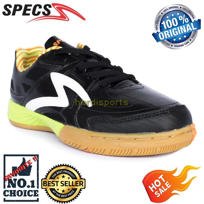 Sepatu Futsal Pria Specs Metasala Rebel 400492 - Black