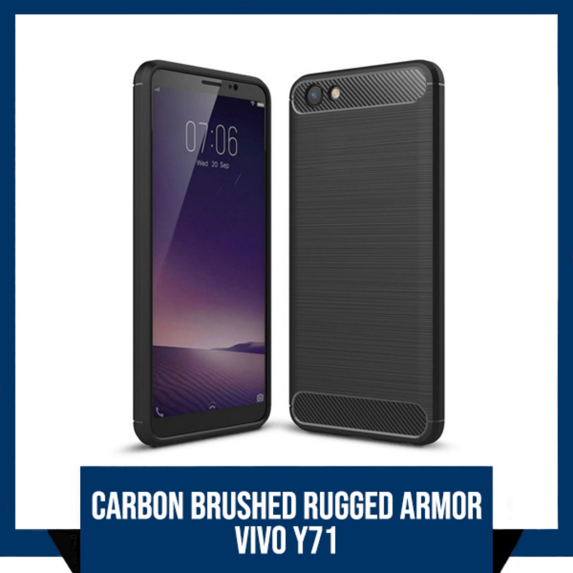 ZenBlade Tempered Glass Vivo Y53. Source · CASE VIVO Y71 PREMIUM CARBON BRUSHED RUGGED ARMOR BACK COVER