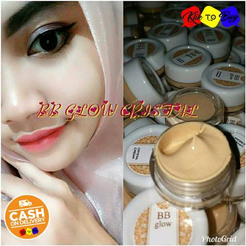 KTB - BB Glow Crystal Cream Original / Krim Wajah Glowing Mencerahkan Memutihkan Wajah - 1