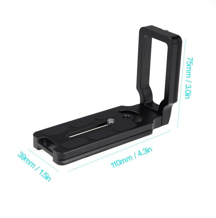 Baru!!! Quick Release Plate For Canon 5D Mark Ii Iii 7D 60D 600D 1100D - ready stock