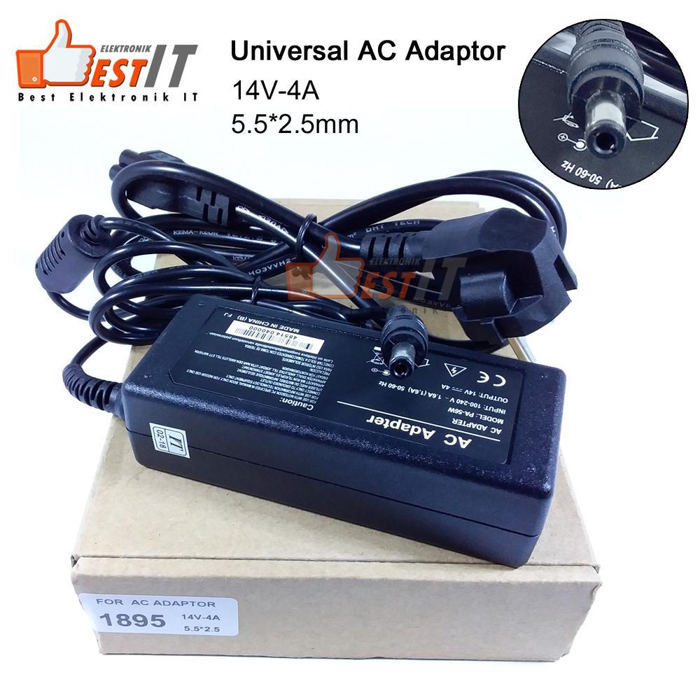 Jual Aneka Adaptor Elektronik Charger Laptop Asus 19v 342a New Kotak Original 100 Lcd Universal 14v 4a 1895