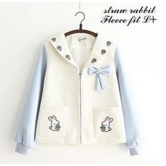 Pencari Harga BPS - Jaket Sweater Straw Rabbit Wanita Trendi Fashionable  Murah Bandung terbaik murah - b43f79c6c6