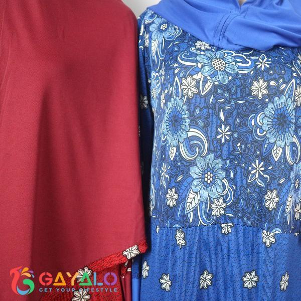 Promo Hari Ini Gamis Jersey Bergo 04 - Baju Lebaran - Gamis - Syari - Baju Muslim  Untuk Lebaran