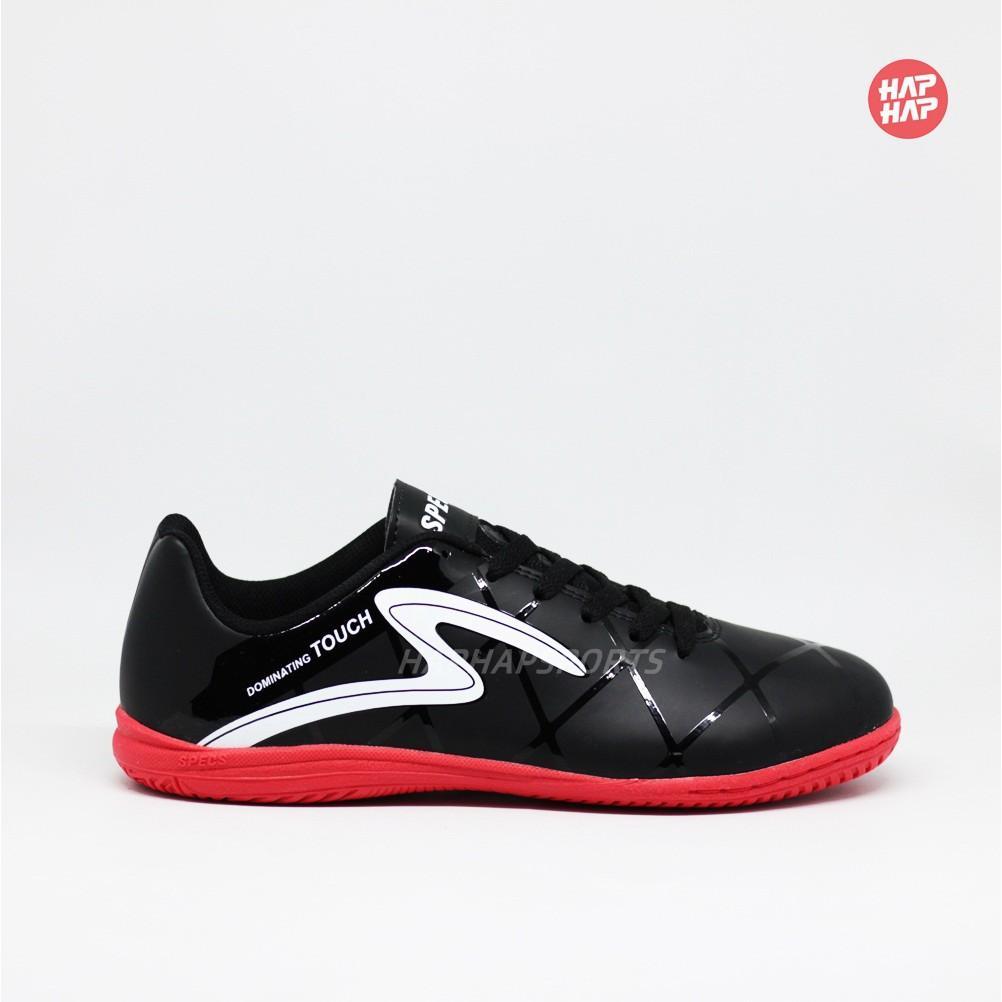 Sepatu Futsal Specs Diablo IN Black / Red 400764