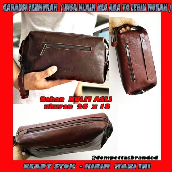 Dompet Tas Tangan / Handbag Pria Wanita super Muat HP android buku tab Terkini