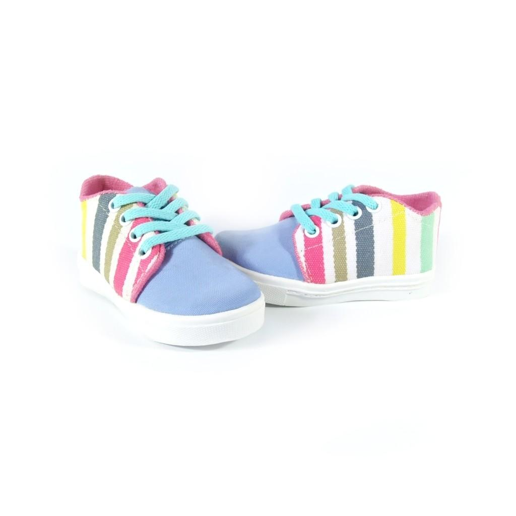 Buy Sell Cheapest Sneakers Kets Stripe Best Quality Product Deals Sepatu Sendal Anak Perempuan Warna 2 Pilihan Rainbow
