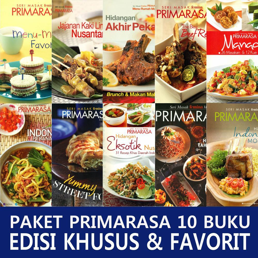Paket Primarasa 10 Buku Edisi Khusus & Favorit By Feminagroup.