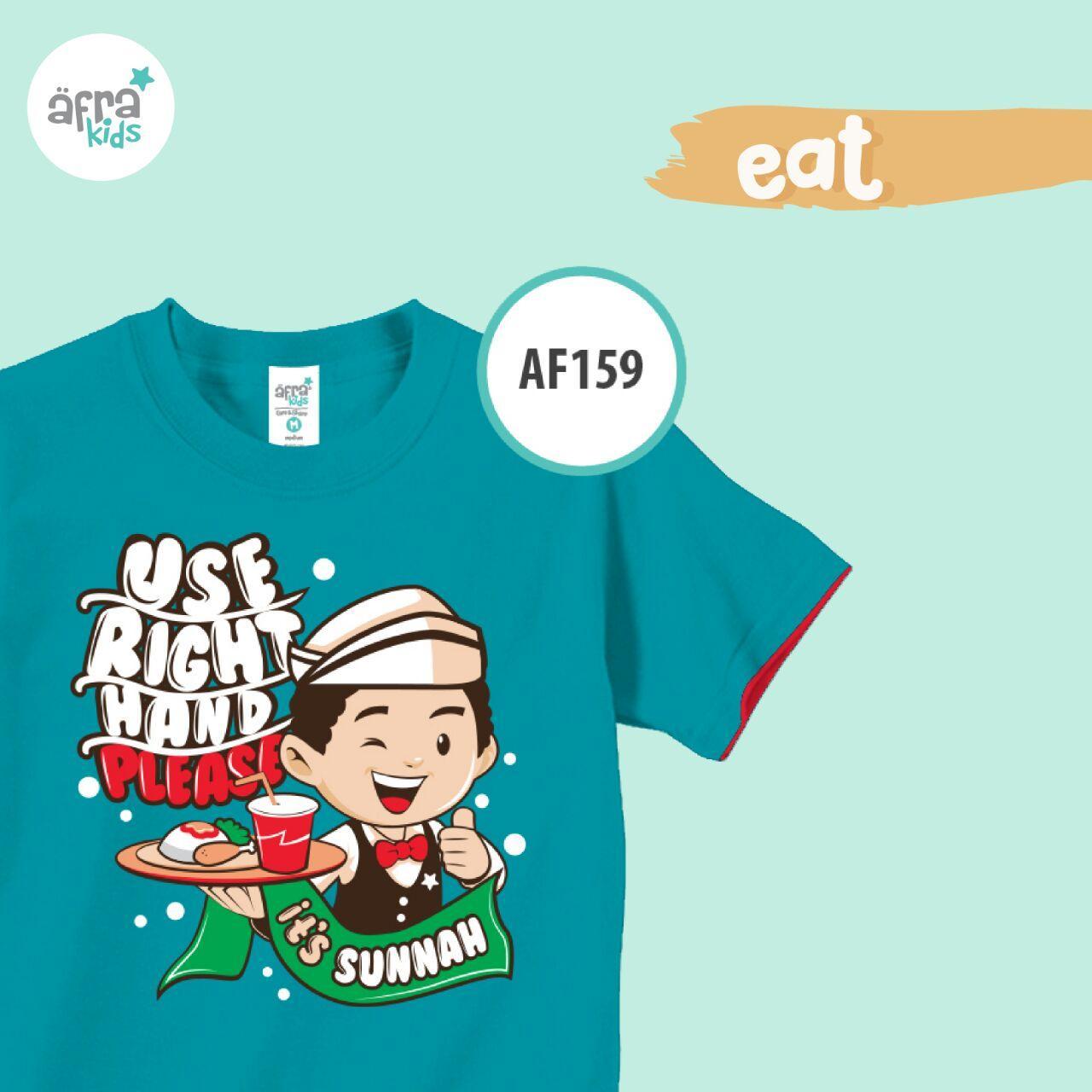 Aria Baju Kaos Anak Afrakids / Baju Kaos Anak Cowok / Baju Kaos Lengan Pendek Laki - Laki / AF159 - Tosca