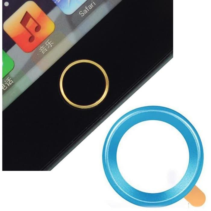 Touch Pad Home Button Ring Multi Color for iPhone | BG | Murah Terlaris