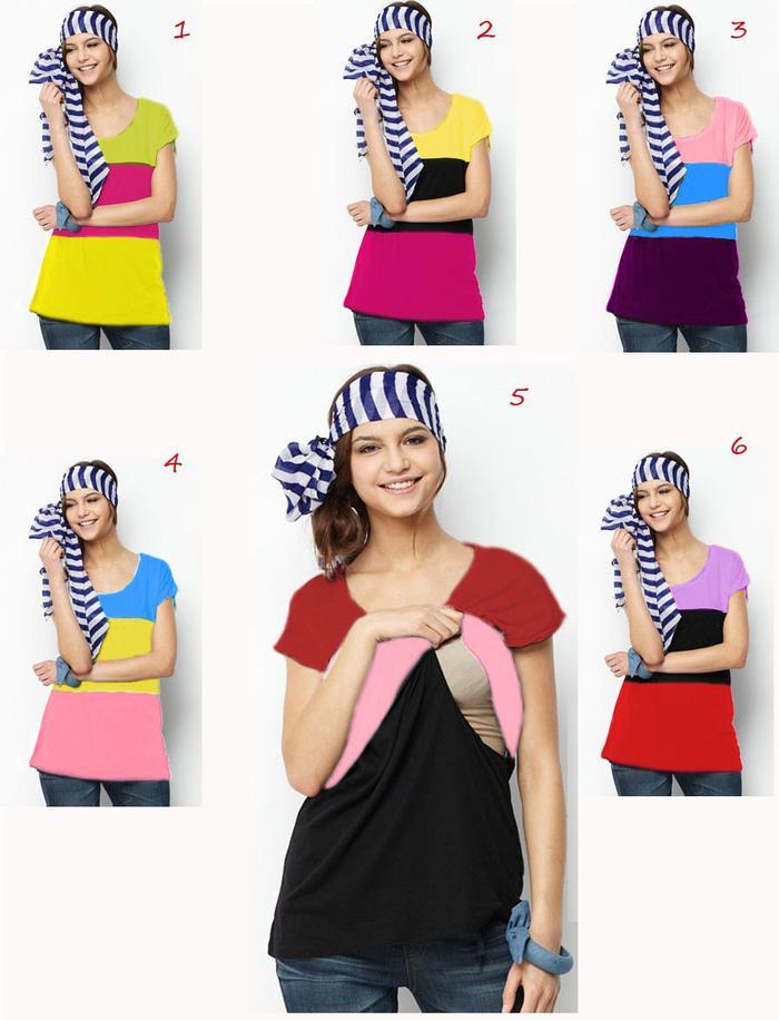 Baju Trendy Hamil dan Menyusui Jumbo - atm 14