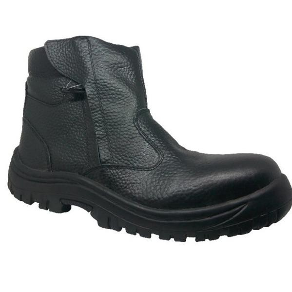 Handymen NBR 603 safety boot shoes - Black