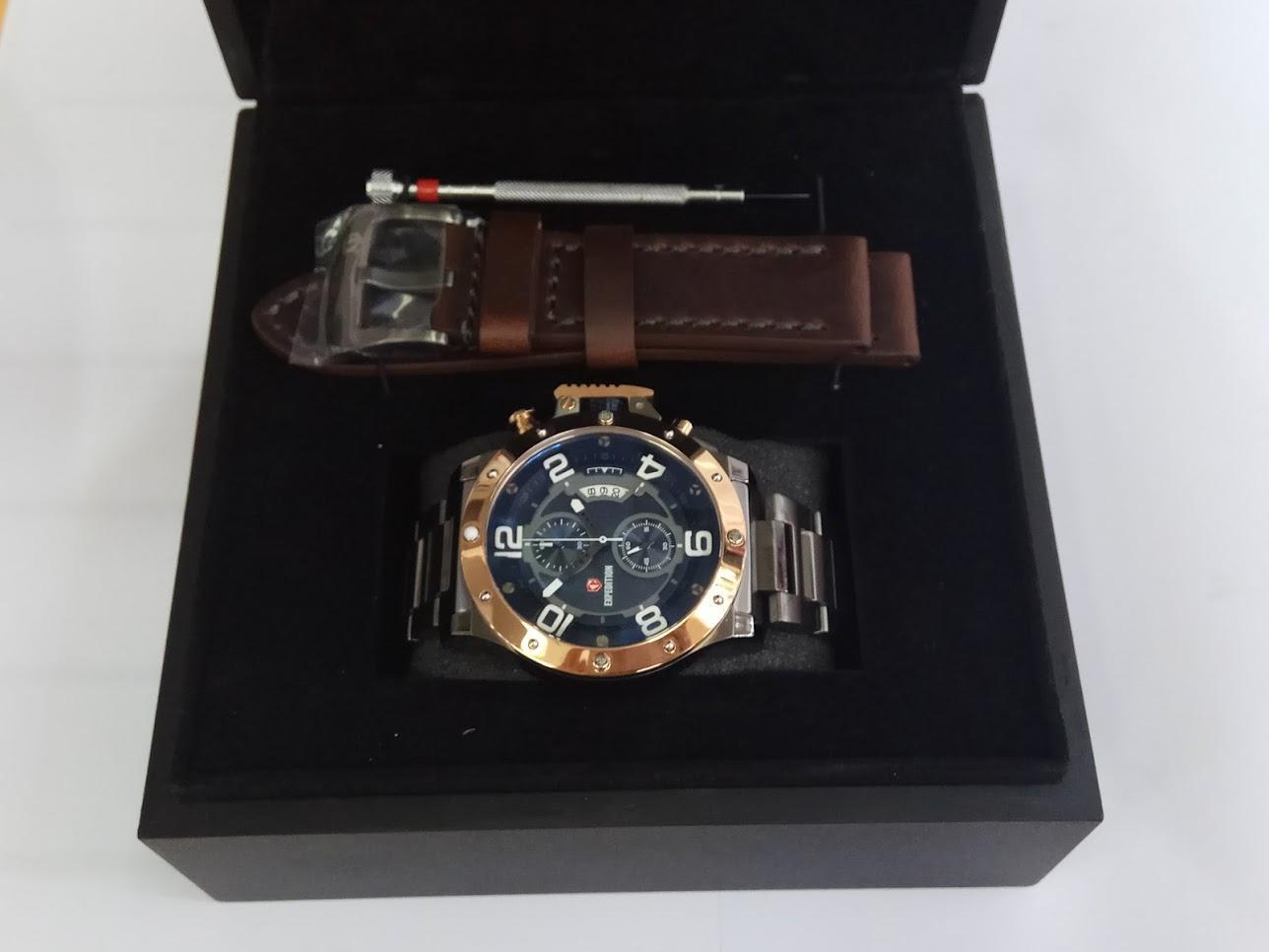 Jual Produk Expedition Terlengkap E6381 Silver Black Couple Original Jam Tangan Pria E6750mc Chronograph Grey Rosegold Stainless Steel