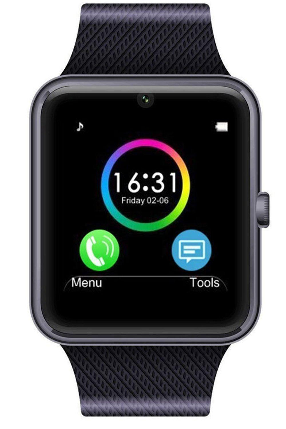 Buy Sell Cheapest Cognos Smart Watch Best Quality Product Deals Onix A1 U10 Smartwatch Full Black Gt08