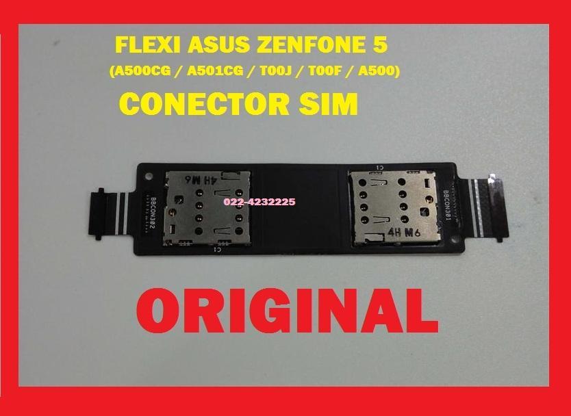 ASUS ZENFONE 5 A500CG A501CG T00J T00F A500 KONEKTOR CONNECTOR SIM 3G FLEKSI FLEXI FLEKSIBEL FLEXIBLE