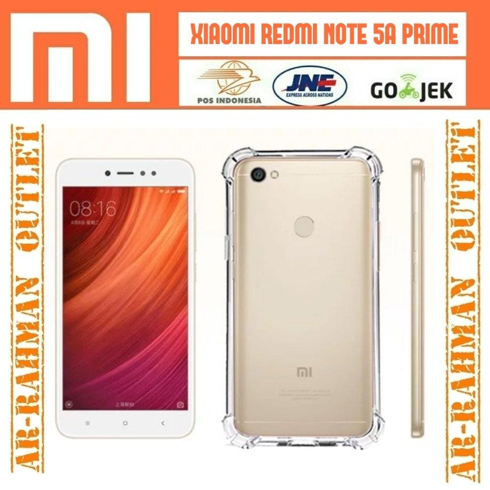 Anti crack shock anticrack soft case cover casing armor ultrathin softcase jelly tpu handphone hp xiaomi redmi note 5a note5a prime 5aprime di lapak ARRAHMAN OUTLET raihanalbatawi