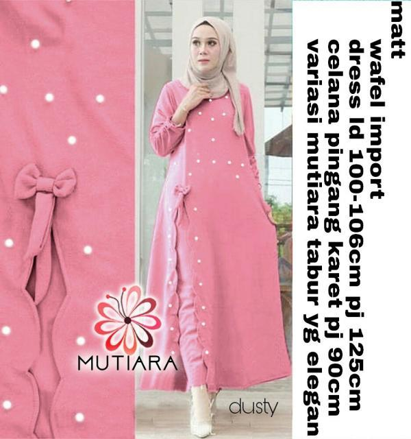 Buy Sell Cheapest Gamis Pesta Mutiara Best Quality Product Deals