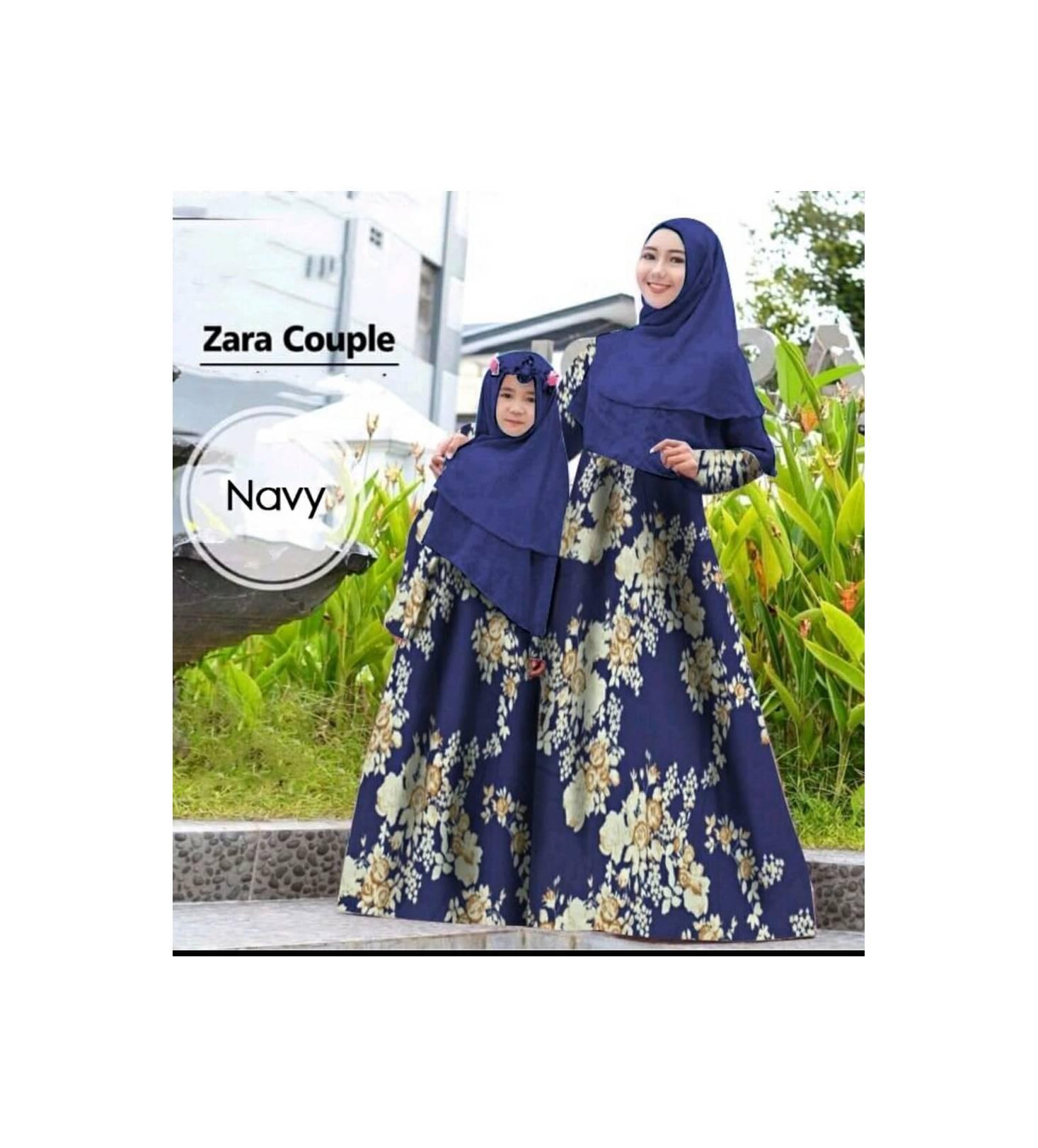 syari couple ibu anak evania 21 - maxi dress gamis