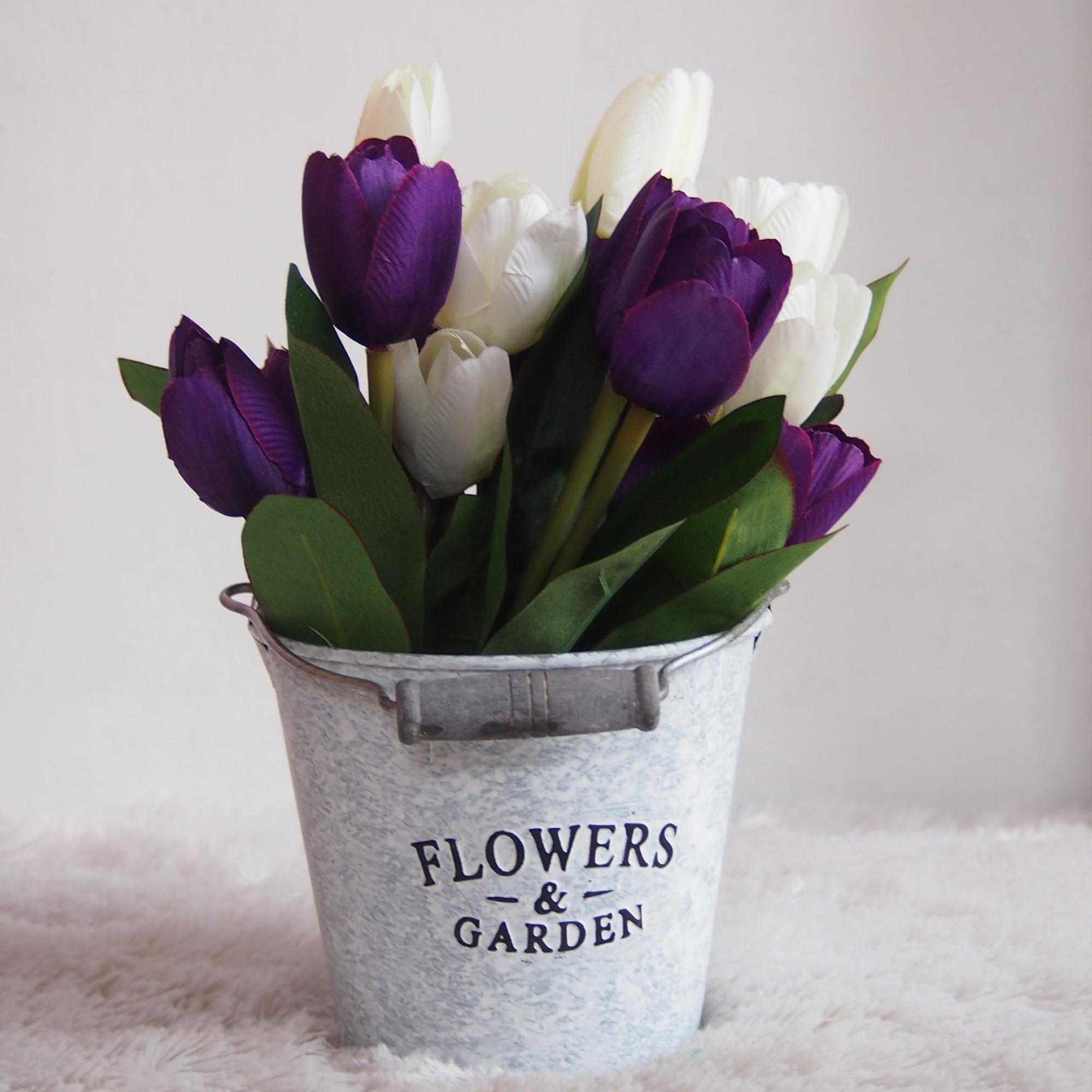 Bunga Hias Plastik - Tanaman artifisial Pot Bulat EK1AIDR87500. Rp 90.000 . a381bebe77