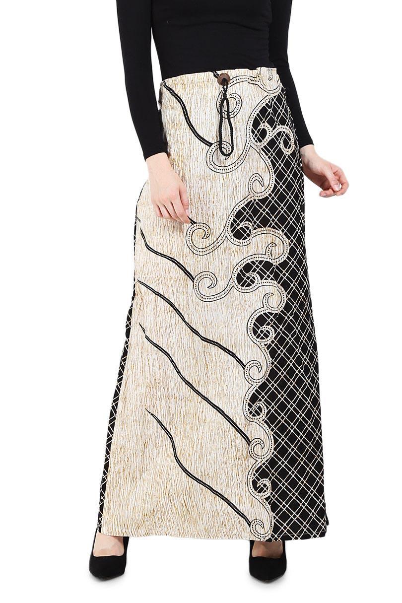 Buy Sell Cheapest Batik Nulaba Rok010 Best Quality Product Deals Kemeja Pria Lengan Pendek Kembang Cakar Krem 100 Cotton Rok Payung Btg Monocrome Pakaian Tradisional