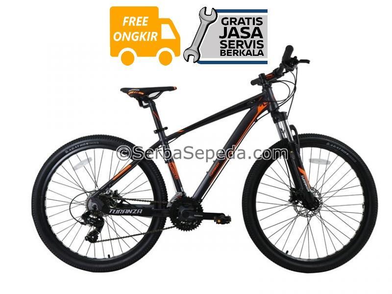 Turanza Sepeda Gunung MTB 27,5 2806 Hydraulic - GRATIS ONGKIR & PERAKITAN KHUSUS JABODETABEK