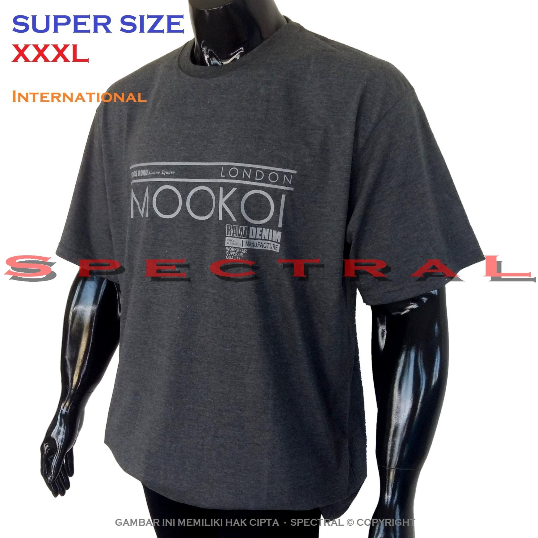 Spectral – SUPER BIG SIZE XXXL INTERNATIONAL 100{55e037da9a70d2f692182bf73e9ad7c46940d20c7297ef2687c837f7bdb7b002} Soft Cotton Combed Kaos Distro Jumbo BIGSIZE T-Shirt Fashion Ukuran Besar Polos Celana Atasan Pria Wanita Katun Bapak Orang Tua Gemuk Gendut Lengan Simple Sport Casual 3L 3XL Baju Cowo Cewe Pakaian Terbaru