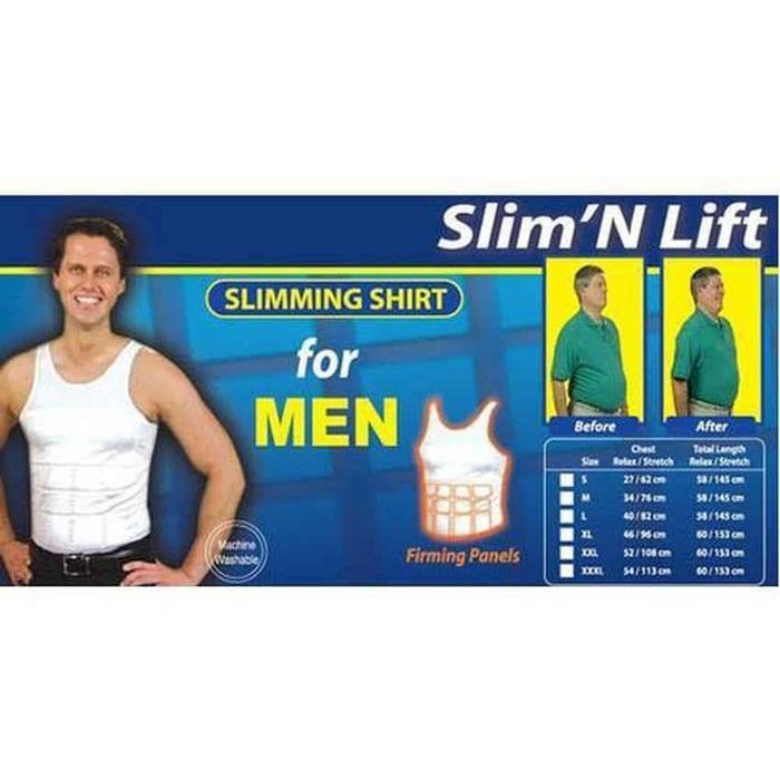 ORIGINAL!!! super diskon Baju Dalam Singlet Pengecil Perut Buncit Slim n Lift For - mCmoKC