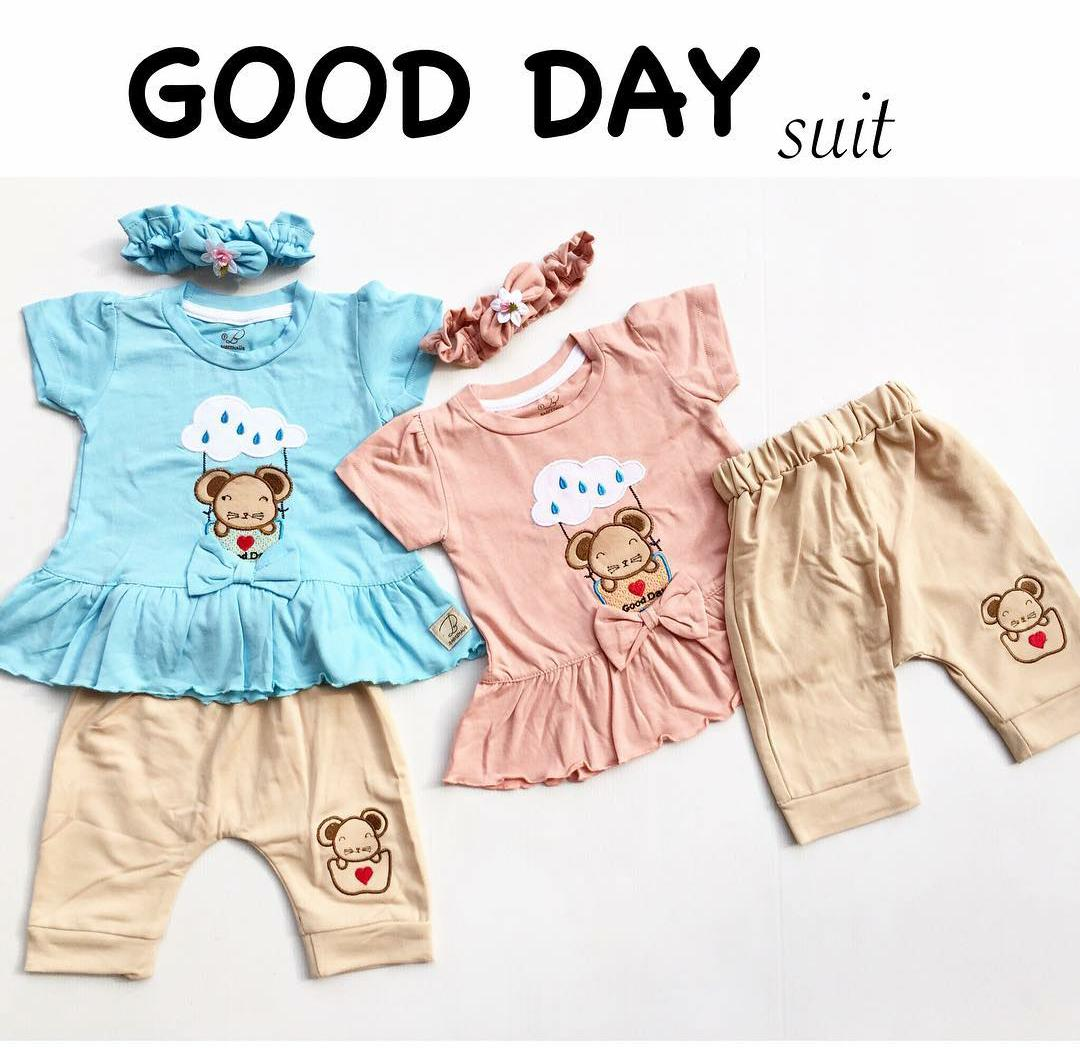 Daftar Harga Baju Import Anak Terbaru Juli 2018 Market Online Setelan Perempuan Bayi Model Kekinian
