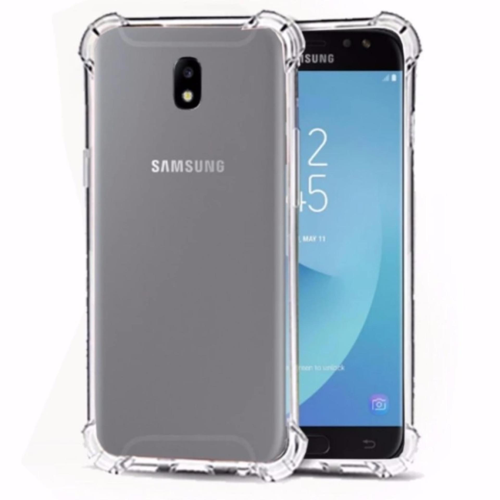 Soft Case Anti Crack  / Anti Shock Case Samsung Galaxy J5 2017, J5 Pro 2017 4G / Case Hp - Clear
