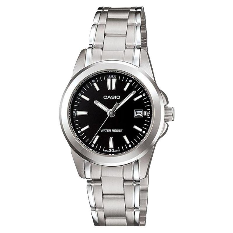Casio LTP-1215A-1A2DF Jam Tangan Wanita Stainless Steel Bracelet