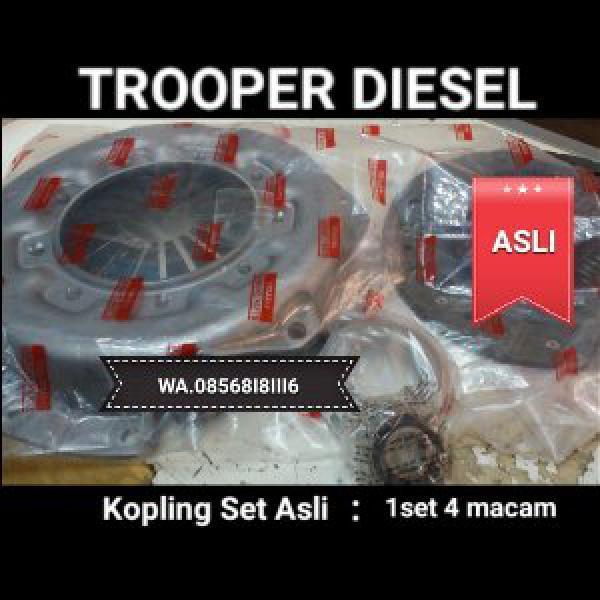 kopling set 4 macam chevrolet trooper diesel asli