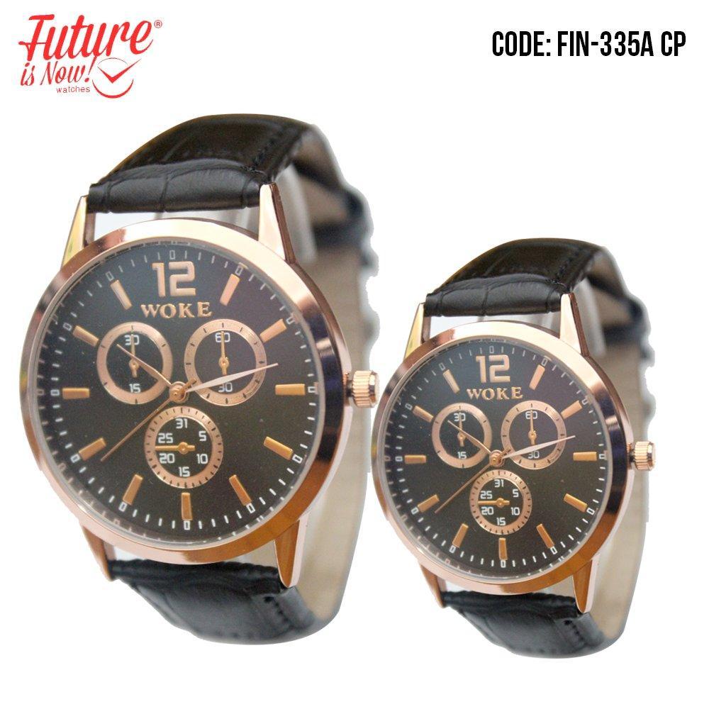 Jam Tangan Couple Unisex Analog - FIN-335A CP