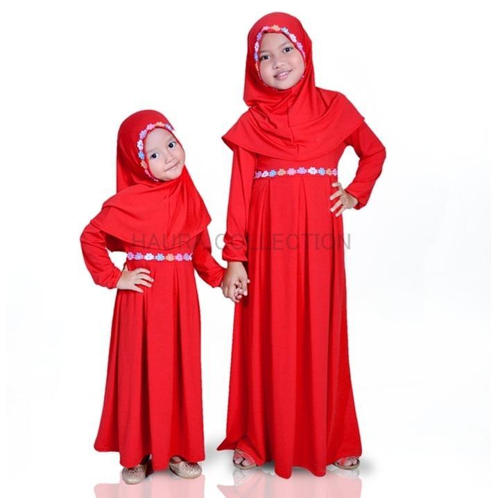 baju muslim/gamis anak perempuan CANTIK LUCU