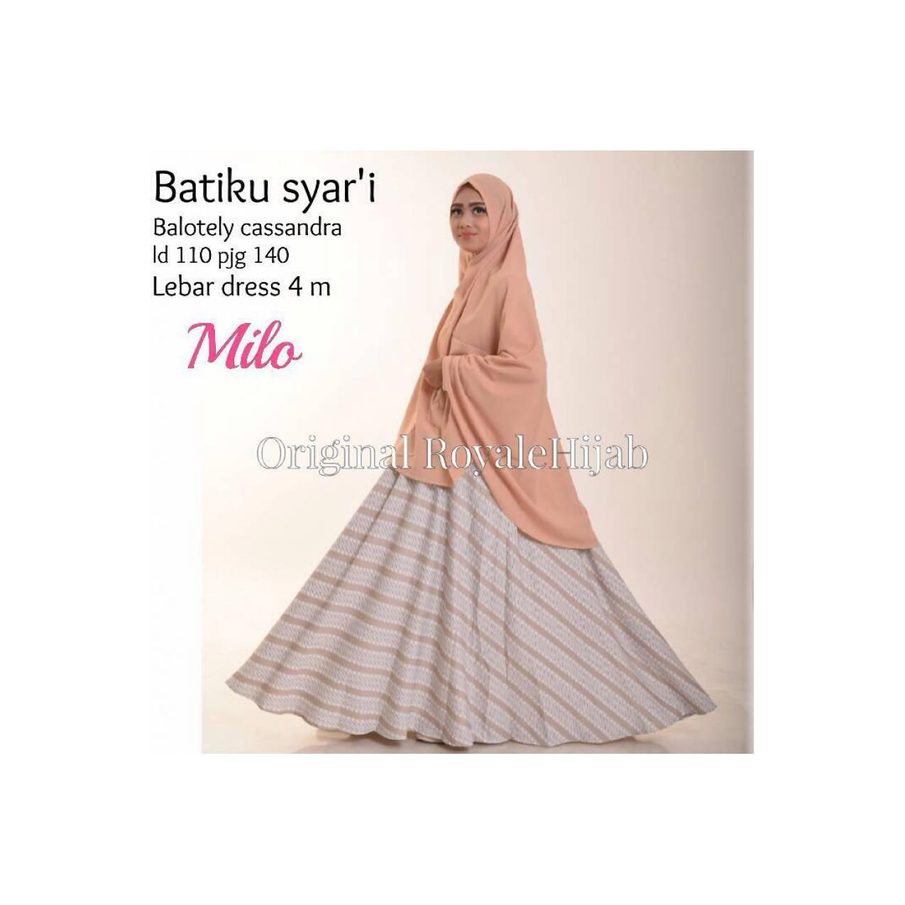SUPPLIER HIJAB : BATIKU SYARI BY ROYALE
