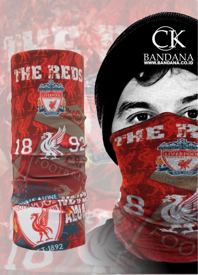 CK Bandana 1403001 Masker Multifungsi Motif The Reds Liverpool