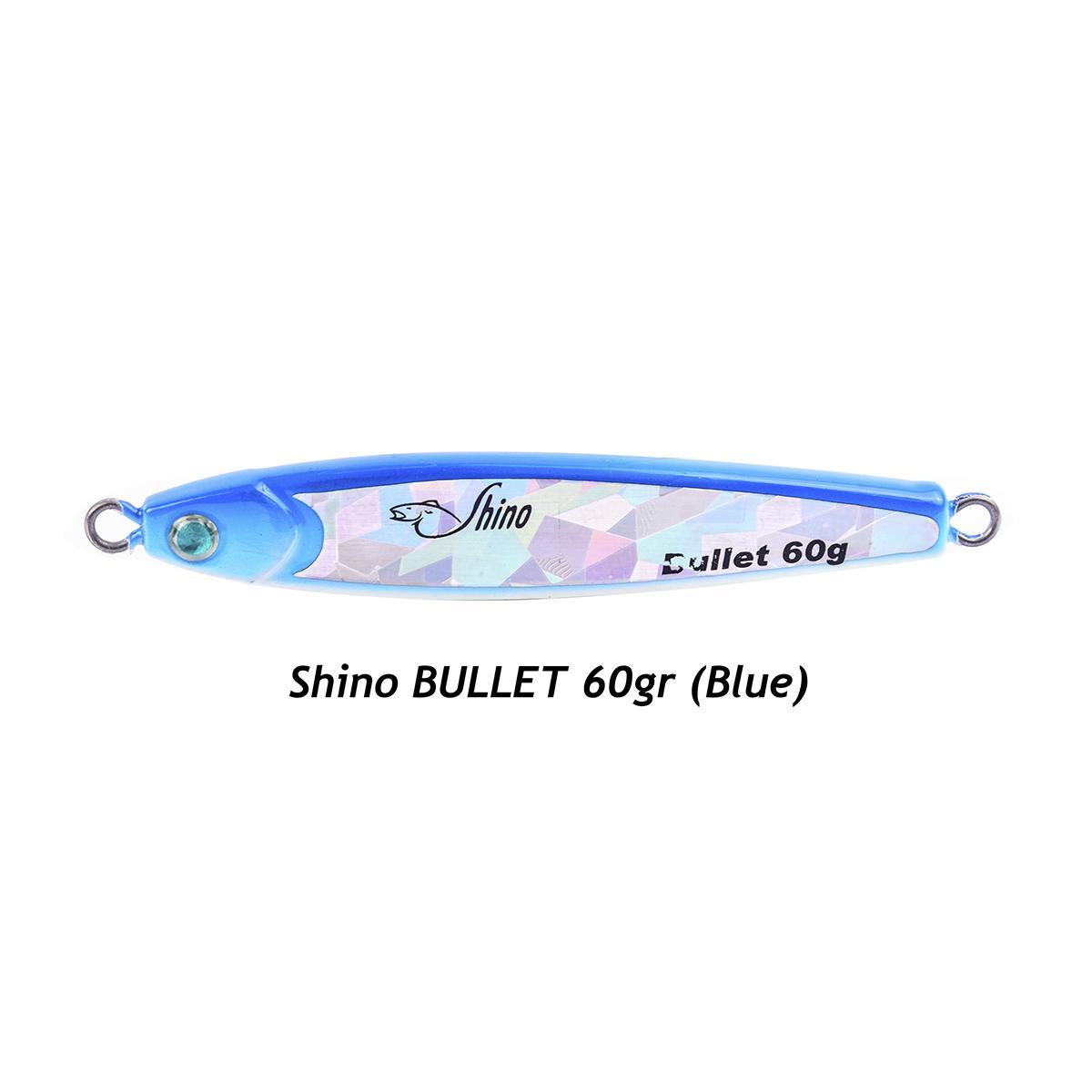 Umpan Lure Metal Jig Shino Bullet 60 Gram Warna Random