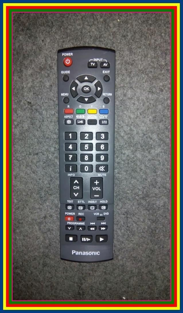 Remot Remote TV Panasonic LCD LED Plasma KW